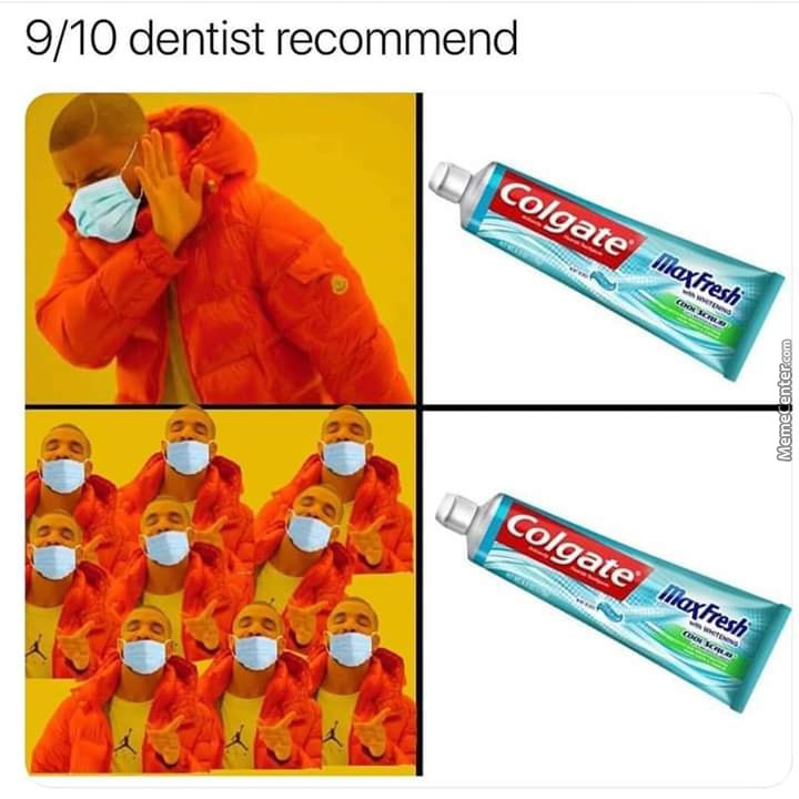 Seriously, Brush Yo Teeth Regularly