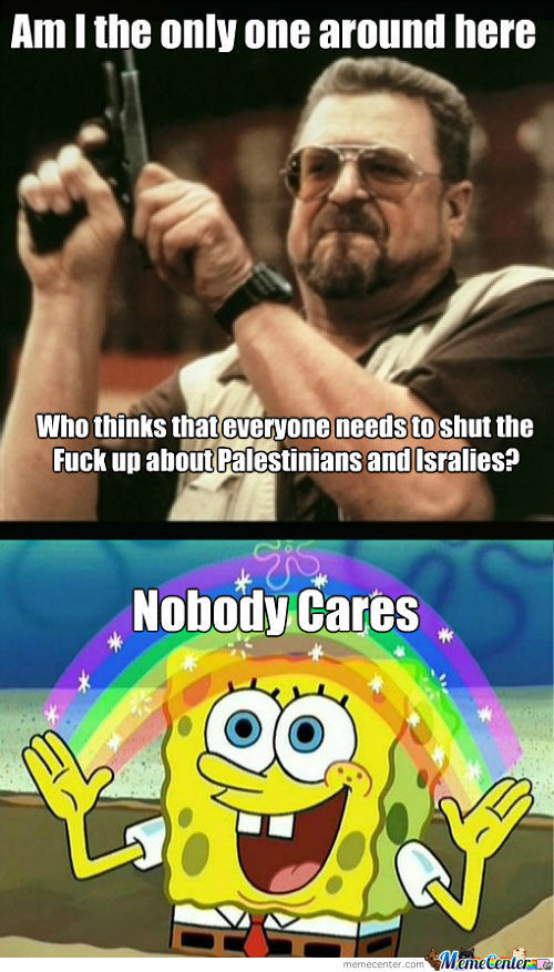 Seriously, No One Cares.