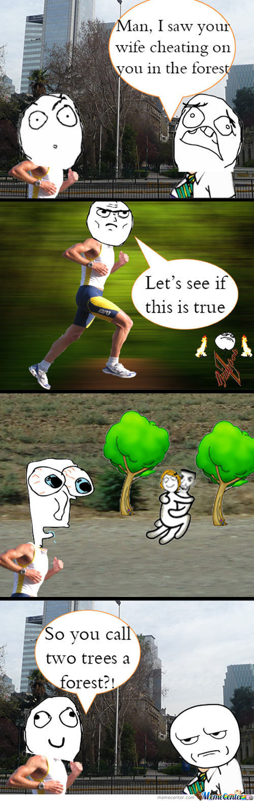 Seriously? Two Trees