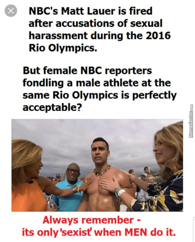 Sexist Against Men Is Rampant And Feminists Have Normalized It. Reject It.