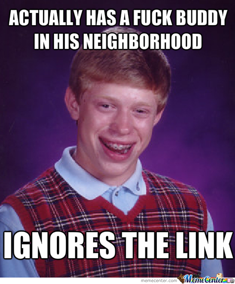 Sexless Bad Luck Brian