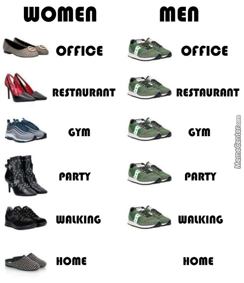 Shades Of Shoes