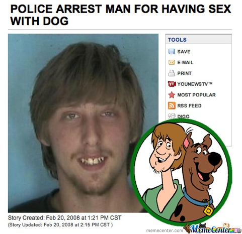 Shaggy And Scooby Doo , Doing The Do