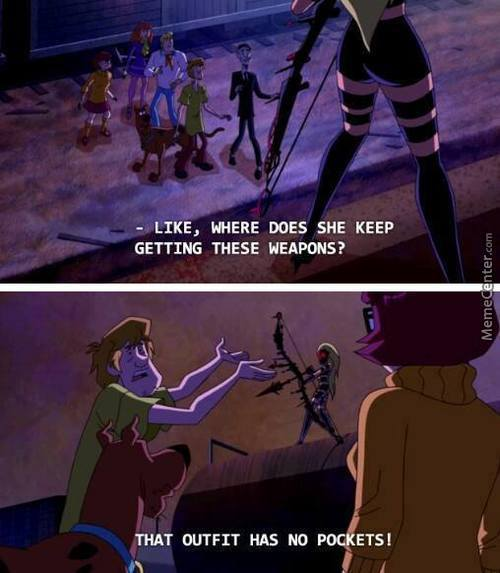 Shaggy Has A Point