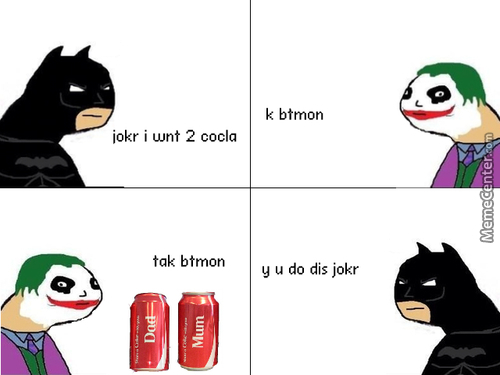 Share A Coke With Joker