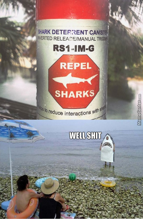 Sharks Repel 101
