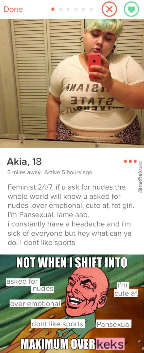 She's Literally Tumblr Feminist Personified