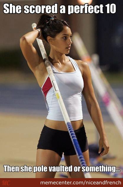 She Can Vault My Pole