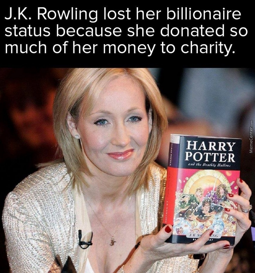 j k rowlings harry potter is not Jk rowling has come out and revealed what her favourite harry potter fan theory is, and it's quite something the author said that the dumbledore is death theory is 'beautiful' and that it 'fits.