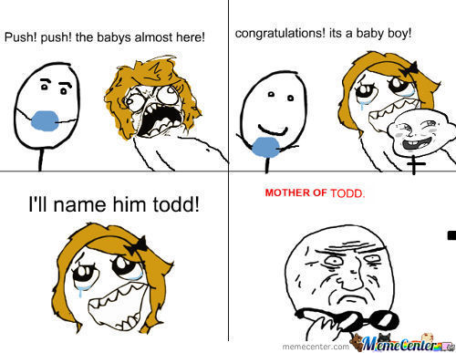 She Is The Mother Of Todd