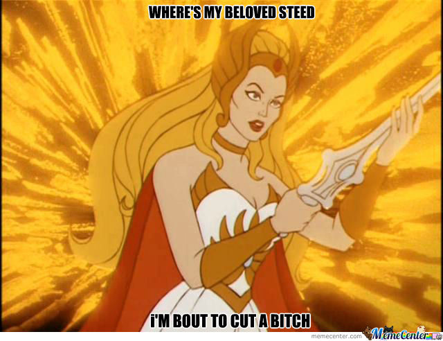 She-Ra Is Over It