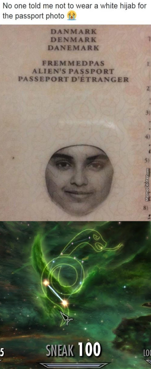She Wore The Hijab Of Invsibility, One Of The Three Deathly Hallows