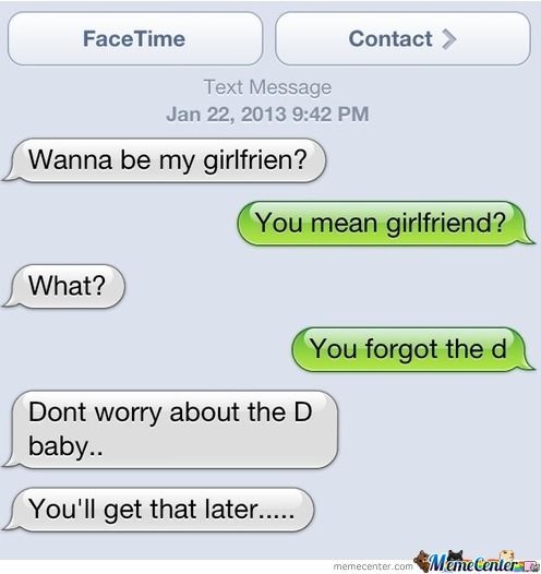 She'll Get The D Later...