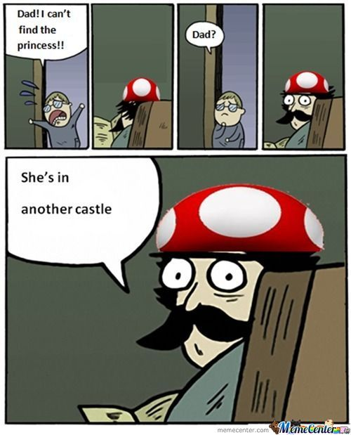 She's In Another Castle