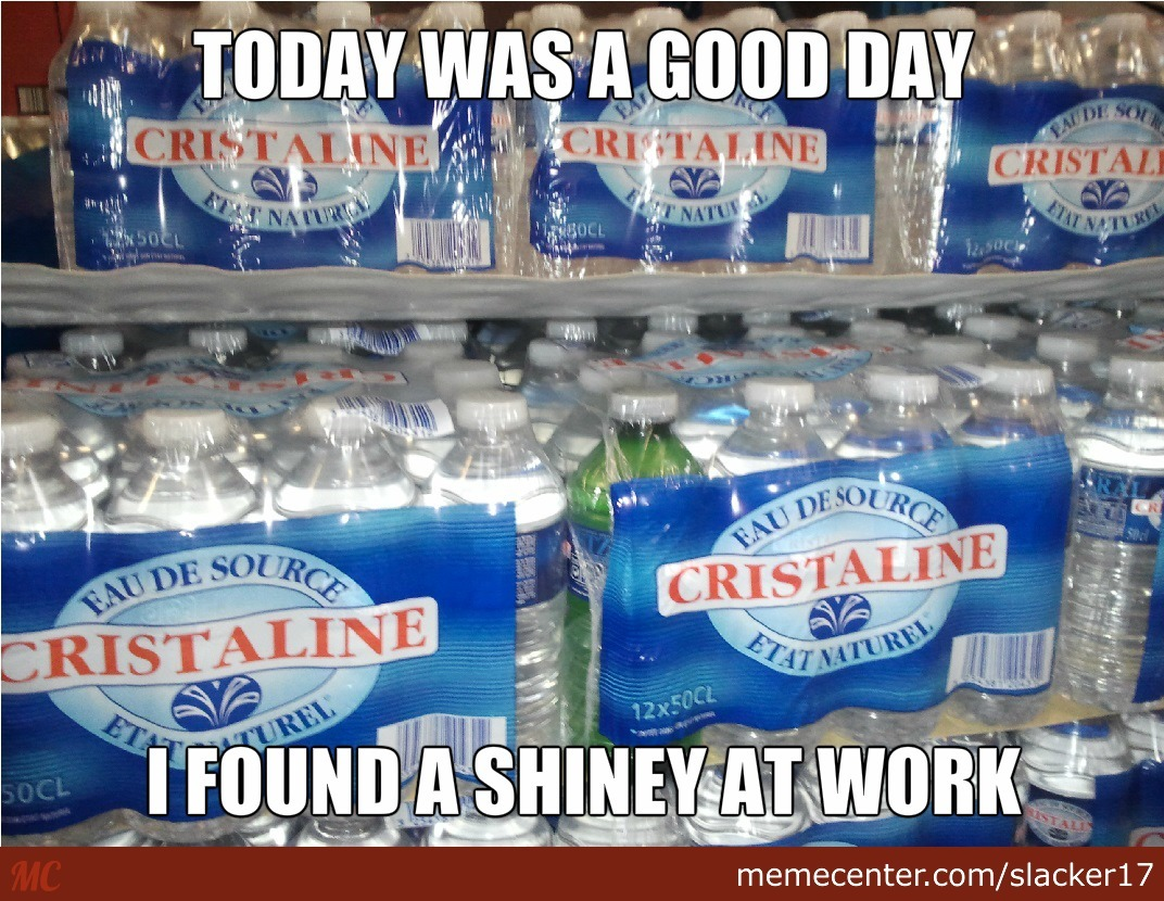 Shiney Water Bottle