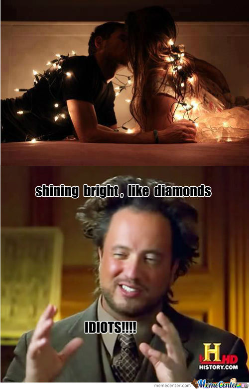 Shining Bright Like Diamonds