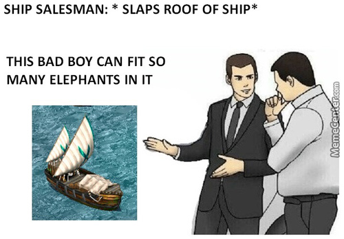 Ship Salesman
