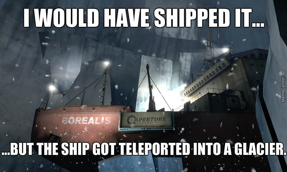Shipping Is Hard.
