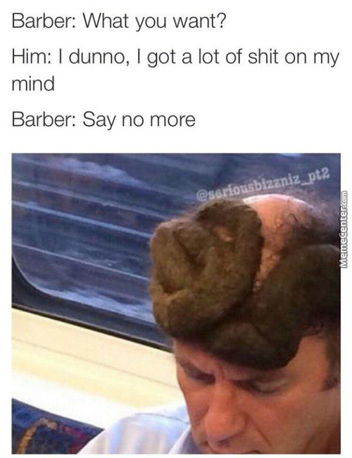 Shitty Haircut!!!!!