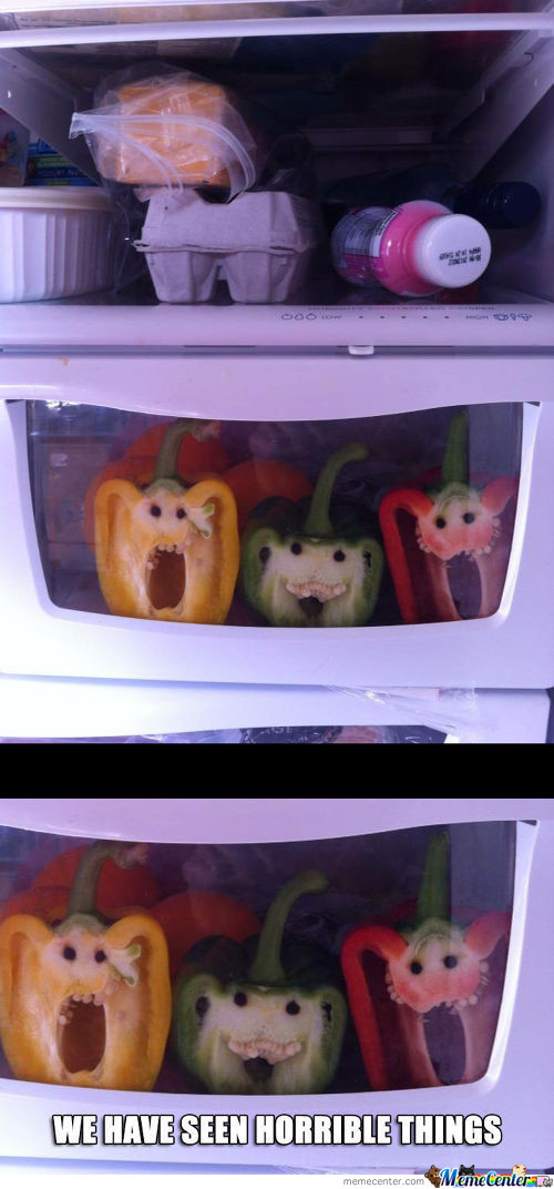 Shocked Vegetables