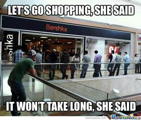 Shopping With Gf