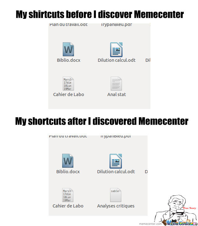 Shortcuts Before And After Mc
