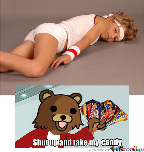 Shut Up And Take My Candy