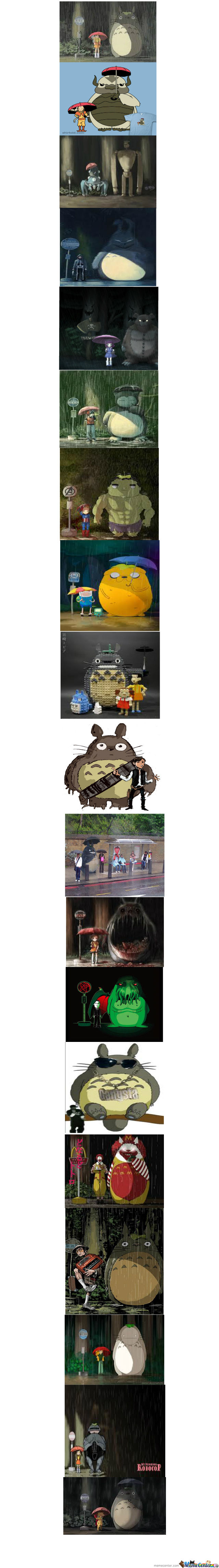 Shut Up And Take My Totoro Compilation