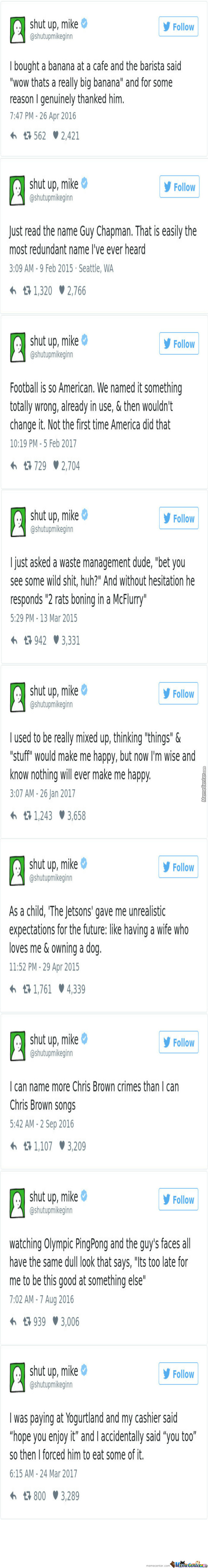 Shut Up,mike