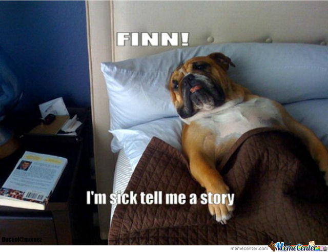 sick dog is ill_o_770670 sick dog is ill by ducani meme center