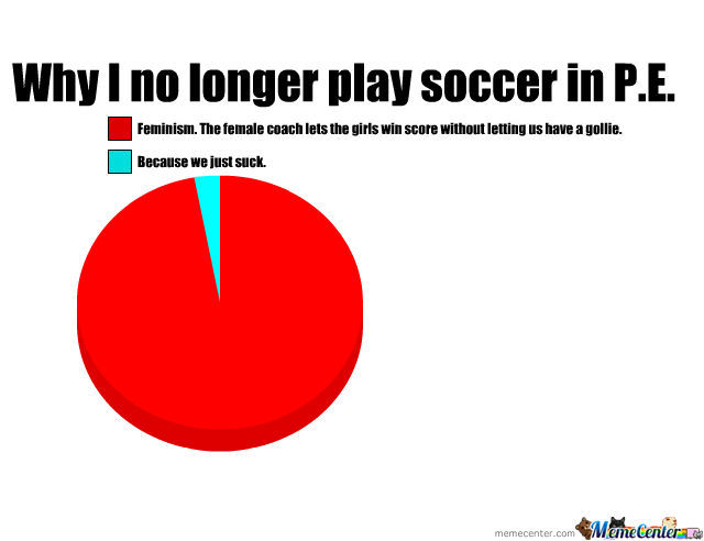 *sigh* This Is Why I Stopped Playing Soccer In P.e.