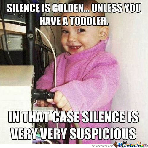 Silence Is Golden, Unless..
