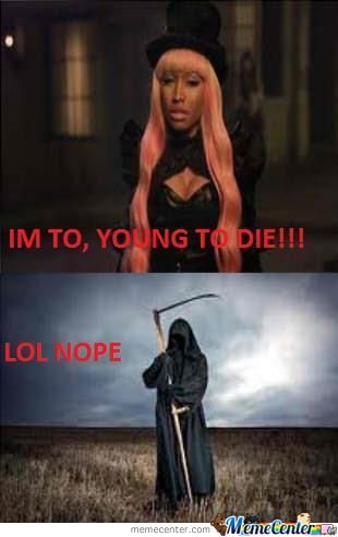 Silly Nicki Minaj :3