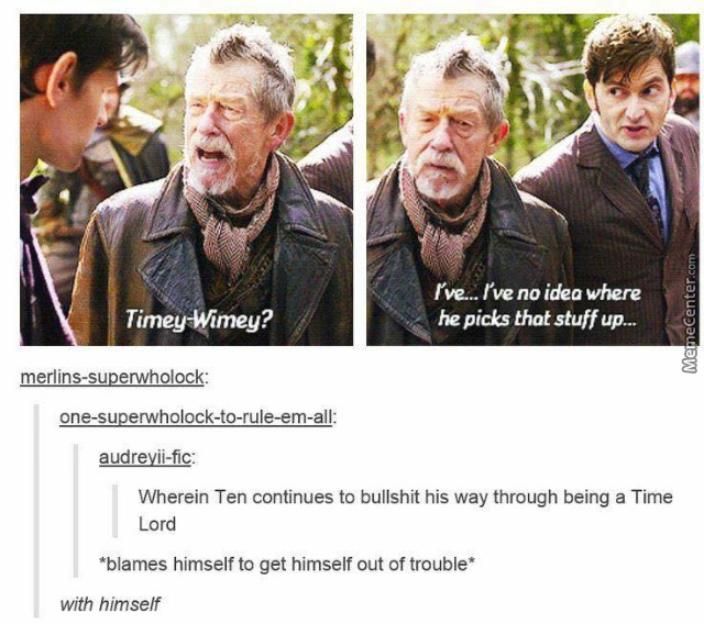 Silly Time Lord