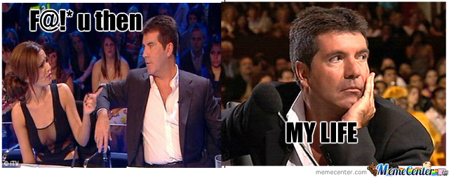 Simon Sad Face