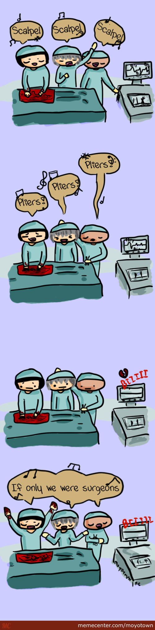 Singing Surgical Operation