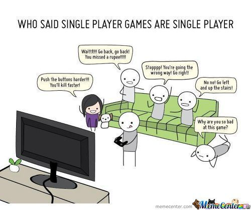 Single Player Games With Other People (20px.com)