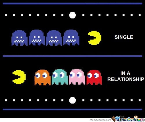 Single / In A Relationship :p Pacman