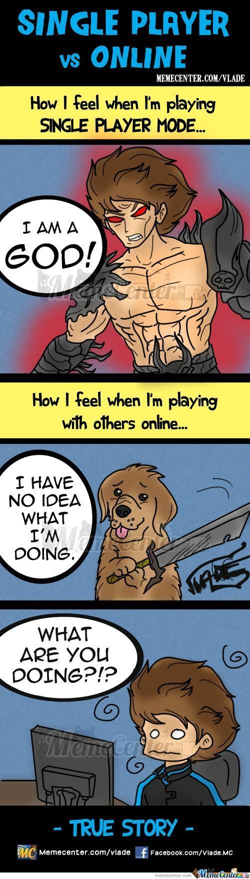 Single Player Vs Online