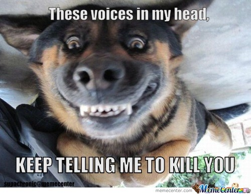 Sinister Dog Is Well, Sinister.