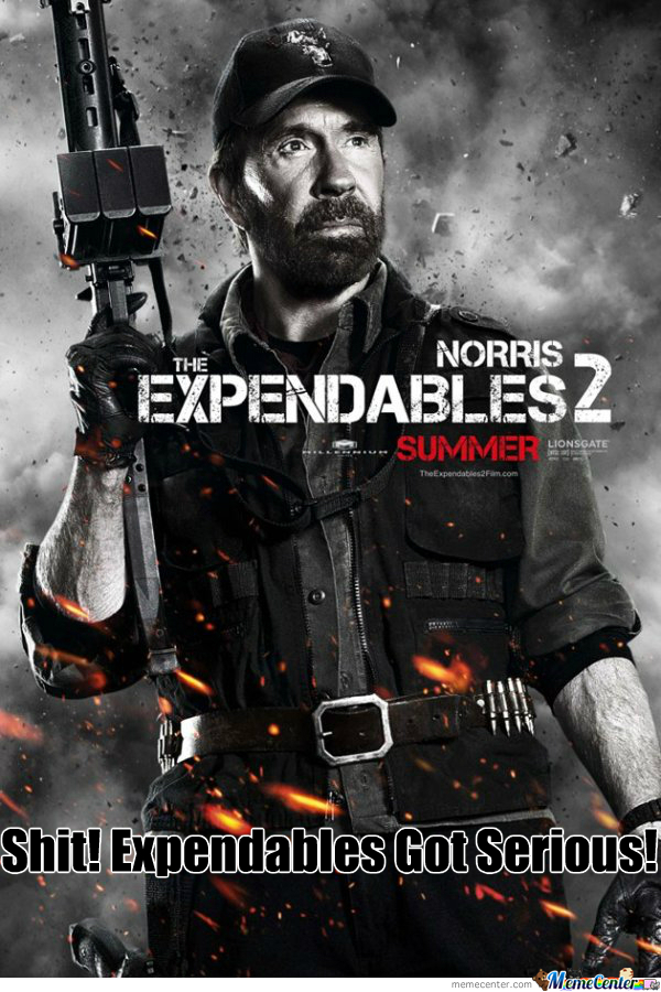 Sir Norris In Expendables??