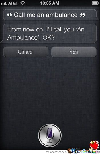 Siri Just Being Siri
