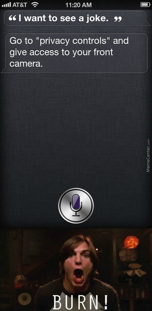 Siri You A Sassy B*tch