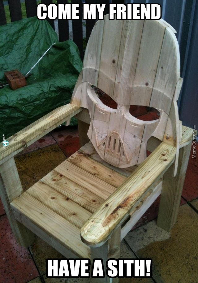 Sitting On A Sith Seat