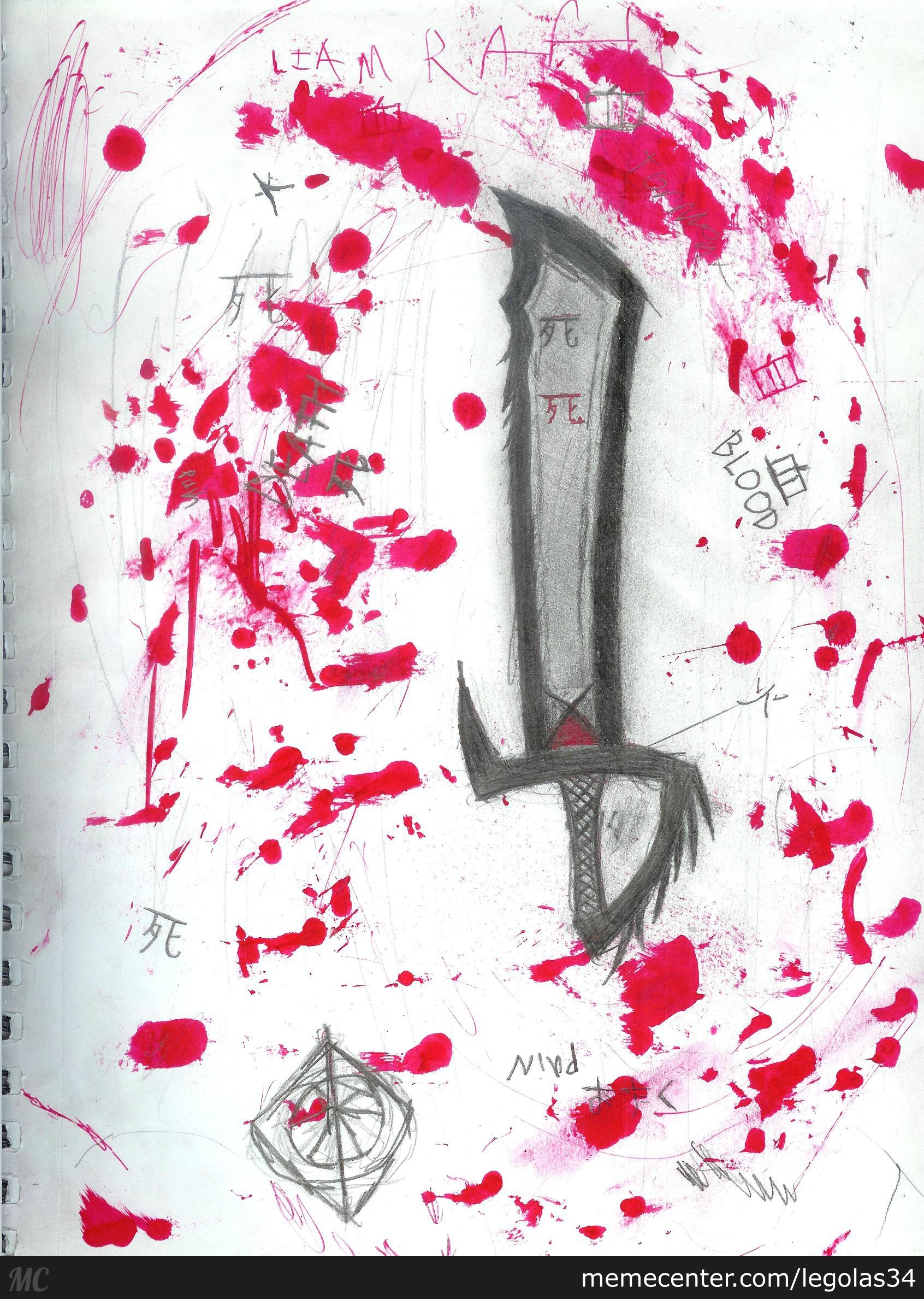 Sketch #2, The Bloody Blade ( I Am Bad With Names)