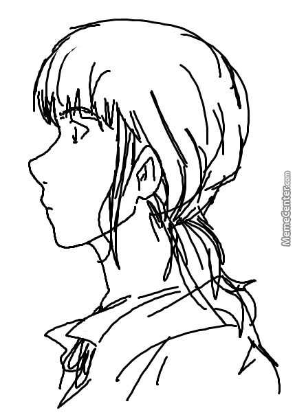 Sketched Grown-Up Rickert In Ms Paint Haha
