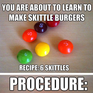 skittle burgers rainbow puking time_fb_2538713 meme center devin hennessy 12 profile