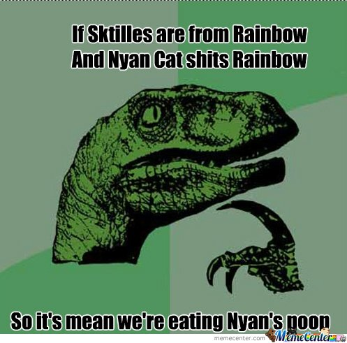 Skittles are not from wear you think