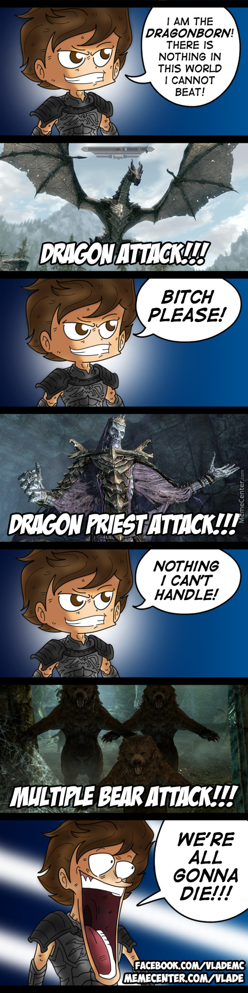 Skyrim's Greatest Threat