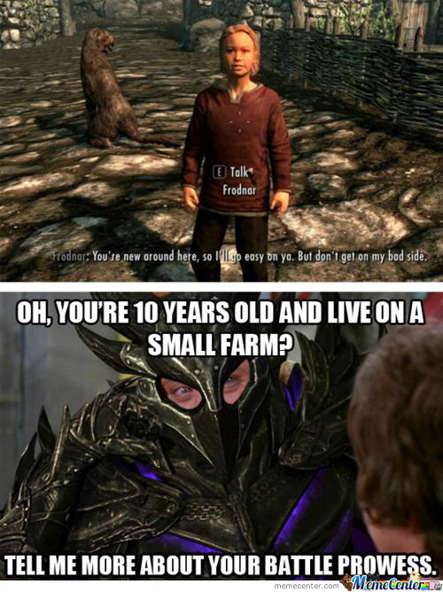 Skyrim And Willy Wonka